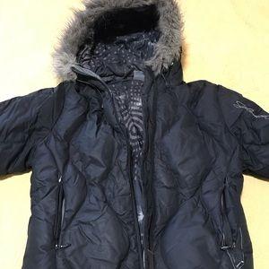 Salomon puffy coat
